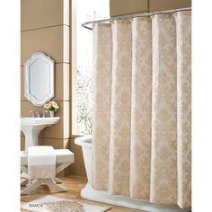 jcp | Queen Street® Bianca Damask Shower Curtain