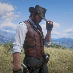 Hottest Video Game Characters, Red Dead Online, Red Dead Redemption Ii, Rdr 2, Hot Video, Playstation Games, Clint Eastwood, Old West, Cowboys