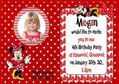 Kids Birthday Photo Invites KBPI 008