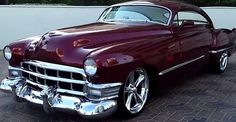 Breathtaking Hot Rod 1949 Cadillac Coupe. Double Click To Watch The Video.