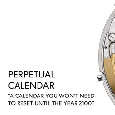 Representing the height of watchmaking, the perpetual calendar takes a skilled watchmaker over a month to assemble everything necessary to make it work. Watch Complications, Vacheron Constantin, Perpetual Calendar, Make It Work, In The Heights, Presents, World, Gifts, Favors