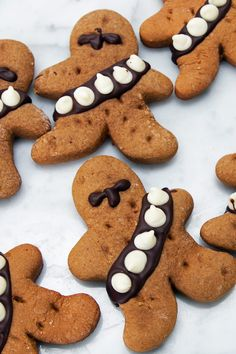 Gingerbread Wookiee Cookies | These Wookiee Cookies Are The Perfect Snack For All You Star Wars Fans