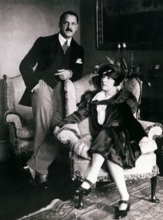William Somerset and Syrie Maugham. 1929.