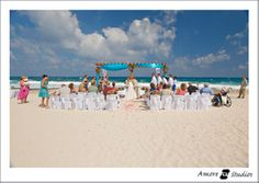 Wedding at Grand Bahia Principe Akumal by Amore Studios #Mexico #rivieramaya #destinationwedding #wedding www.bahiaprincipe.com