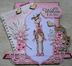 Gritty Giraffe. by Haneefting - Cards and Paper Crafts at Splitcoaststampers