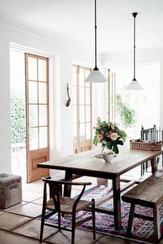 40 Enchanting Rustic Dining Room Decor Ideas