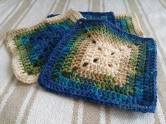 Me and The Letter 'C': Double Crochet Granny Square