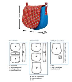 b-olso-patrones Bag Patterns To Sew, Sewing Patterns, Mochila Jeans, Denim Handbags, Small Sewing Projects, Leather Art, Leather Projects, Cloth Bags, Bag Making