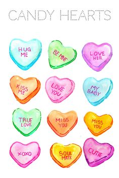 Heart Clipart Valentines Day Clipart Candy by WriteLovely Valentines Day Hearts Candy, Valentines Day Clipart, Valentine Tree, Valentine Gifts, Valentine Ideas, Candy Clipart, Cute Clipart, Candy Drawing, Drawing Clipart