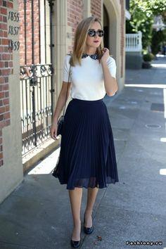 Прощальный летний привет: юбки