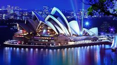 Australia Opera House In Sydney Urban Architecture HD Wallpaper [1920x1080]
