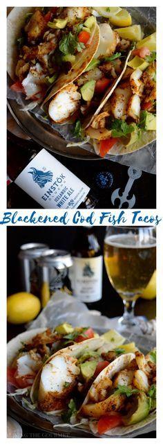 Blackened Cod Fish T