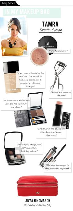 Want to know what's in my makeup bag? Check it out on vault files! #makeup