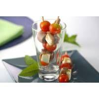 Gallina Blanca - Receta de Brochetas de tomate, queso y anchoas - Gallina Blanca