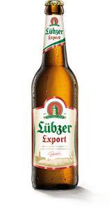 Lübzer Export - Das Lübzer Export ist ein malzaromatisches und untergäriges Vollbier. Eine Besonderheit dieses Biertyps war die lange Haltbarkeit – deshalb war es um die Jahrhundertwende gut für den Export geeignet. Genießen Sie das einzigartige, nach dem deutschen Reinheitsgebot von 1516 gebraute, würzige Aroma von Lübzer Export.