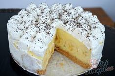 Ko&Ba Rezepte: Wunderbare Bananentorte ohne Backen Ko & Ba Recipes: Wonderful banana cake without baking Sugar Cookies From Scratch, Cookie Recipes From Scratch, Easy Cookie Recipes, Donut Recipes, Baking Recipes, Pudding Desserts, No Bake Desserts, Easy Desserts, Dessert Recipes