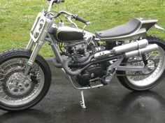 street tracker motorcycles | ... some really interesting bikes from the LEmay Museum motorcycle show