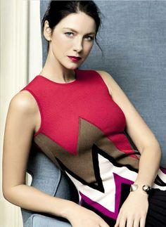 "outlander-news: "" Caitriona Balfe photographed by Julian Hargreaves for Vanity Fair Italia """