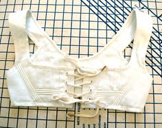 Finished Project: Regency Short Stays + Pattern Review – Wearing History® Blog