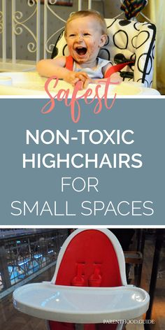 If you're looking for a highchair for your little one, but are short on space, you've come to right place. Check out our reviews of the top 3 picks. #highchairs #babyfeeding Best High Chairs, Hospital Bag Checklist, Chairs For Small Spaces, Mahogany Color, Good Posture, Baby Safe, Health And Safety, Baby Feeding, Baby Gear