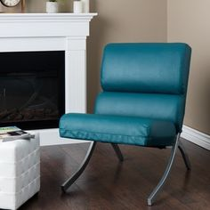 Shop for Rialto Teal Bonded Leather Upholstery Chair. Get free shipping at Overstock.com - Your Online Furniture Outlet Store! Get 5% in rewards with Club O!