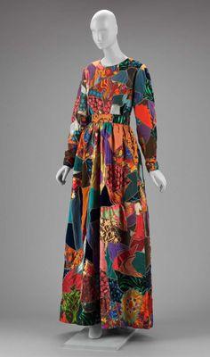 Evening DressYves Saint Laurent, 1969The Museum of Fine Arts, Boston
