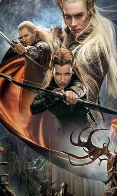 the hobbit desolation of smaug - Elves are so awesome!