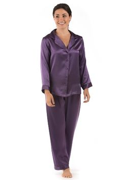 Womens Silk Pajamas Set Sleepwear - Morning Dew (Grape, XS) - Unusual Warm Romantic Pajama Clothing for Her; Something Special for me Gifts for Women WS0001-GRP-XS TexereSilk http://www.amazon.com/dp/B0092TNN4K/ref=cm_sw_r_pi_dp_IFToub0WP7P2T