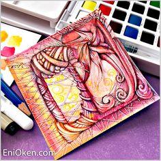Drawing Zentangle®️️ • enioken.com