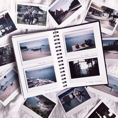 New Travel Journal Pictures Scrapbook Layouts Ideas Photo Polaroid, Polaroid Pictures, Polaroid Camera, Mini Camera, Storms Dont Last Forever, Scrapbook Journal, Scrapbook Layouts, Photo Album Scrapbooking, Scrapbook Albums