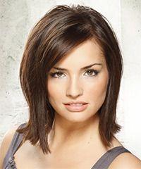 Salon Hairstyle: Casual Medium Straight Hairstyle