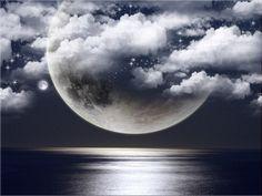 realistic moon tattoo - Google Search
