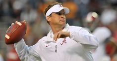 Nick Saban addressed the report of Lane Kiffin and the 49ers job.