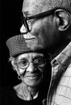 Growing old together ... Black Love ... ☥ ... Black•L❤️VE