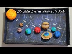 Trendy science experiments kids solar system how to make Solar System Model Project, Solar System Projects For Kids, Solar System For Kids, Solar System Crafts, Solar System Planets, Solar System Science Project, School Science Projects, Science Experiments Kids, Elementary Science