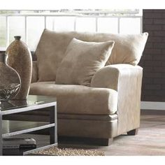 Brown Upholstery Combo Chair And A Half | Nebraska Furniture Mart