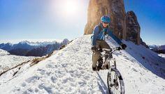 GoPro Channel   Snowy Singletrails in the Dolomites