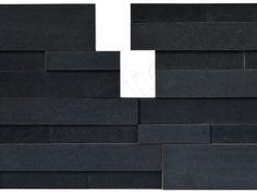 Ebony Basalt 3D Panels by Norstone