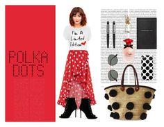 """polka dots"" by nerea-her on Polyvore featuring moda, WearAll, Caroline Constas, Gianvito Rossi, Oris, Soeur Du Maroc, Ray-Ban, Dolce&Gabbana, Smythson y Cartier"