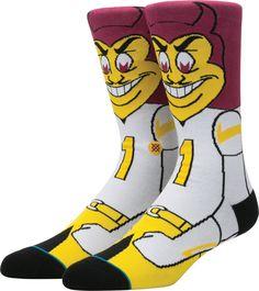 17d42ae016fd Stance Arizona State Sun Devils Mascot Socks
