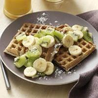 Cardomom Sour Cream Waffles