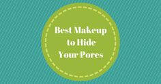 Do you have noticeable pores on your face? Here's how you can use makeup to hide them! http://www.notanothercovergirl.com/hiding-pores-with-makeup/