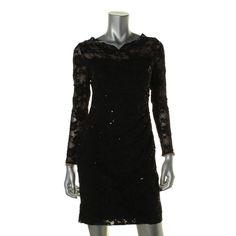 Awesome Amazing Lauren Ralph Lauren 6061 Womens Black Lace Party Cocktail Dress Petites 2P BHFO 2018 Check more at http://24store.ml/fashion/amazing-lauren-ralph-lauren-6061-womens-black-lace-party-cocktail-dress-petites-2p-bhfo-2018/