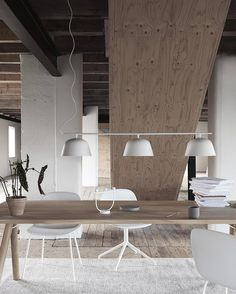 INSPIRATION: Nordic design influence is always a favourite at est. We can't help but be soothed by the light timber, a perfect match for white furnishings and fittings | est living
