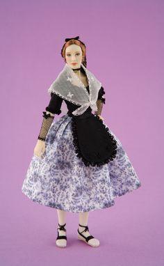 Maria José Santos-Carabosse Dolls- Vestido catalán-Estampación por encargo.\\n\\n19/02/2011 20:18