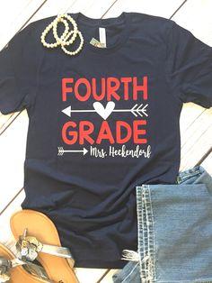 Teacher Shirt, Back to School Shirt, Teacher Team Shirt, Personalized Teacher Shirt, Teacher Gifts, Gifts for Teachers, Custom Teacher Shirt by SimplyStylishCo on Etsy