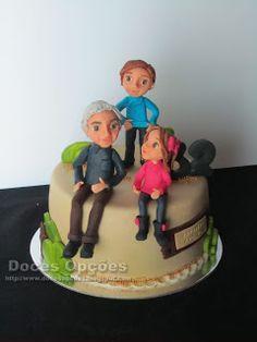 Doces Opções: Bolo de aniversário avô