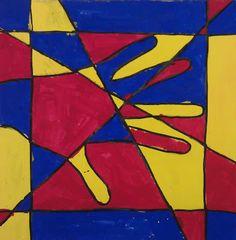 Primary Colour Straits Line Art Class