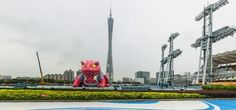 """There's A Giant And Mysterious Pink Toad """"Naruto"""" Balloon In China"""