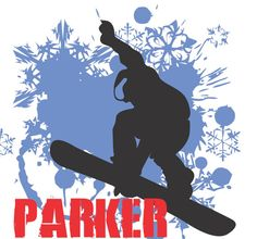 Snowboarder Wall decal Wall Decal Vinyl Sticker by VandyVinyl
